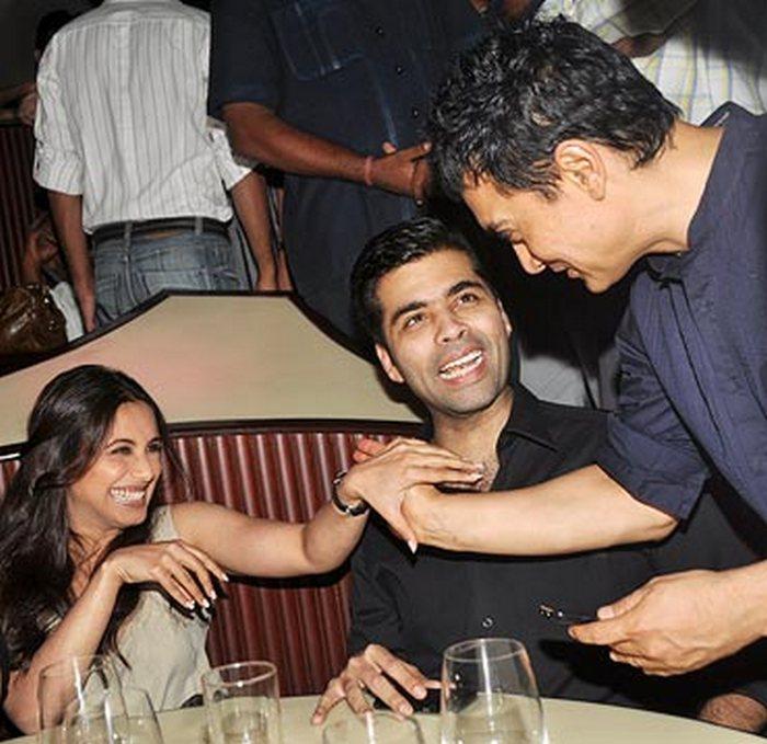 Rani Mukerji Aamir Khan Karan Johar
