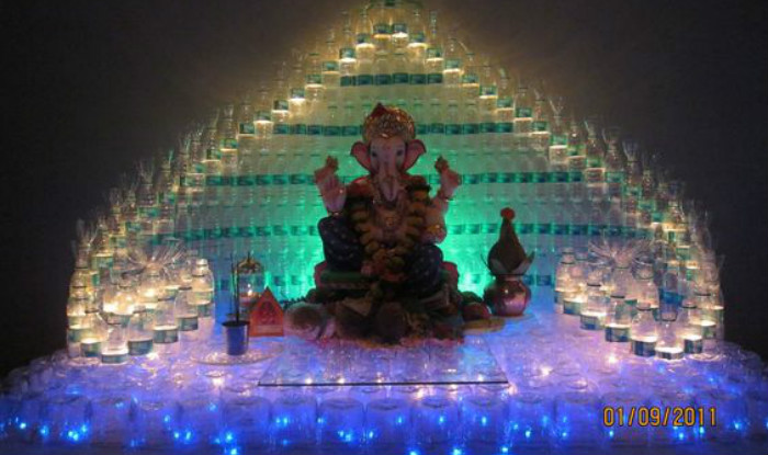 simple yet insanely beautiful decoration ideas for ganpati festival