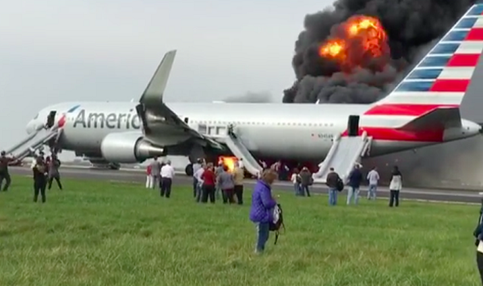 Chicago Airport Accident American Airlines Flight 383