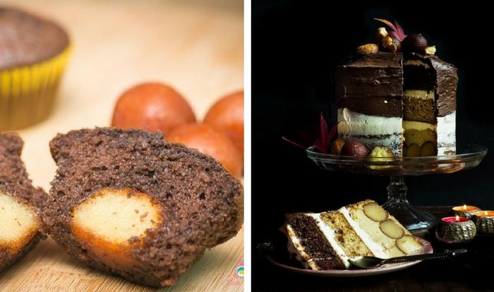 gulab jamun cakes and cupcakes