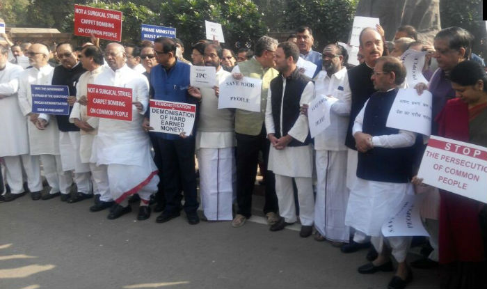 Bharat Bandh called by a united Opposition on Nov 28 against demonetisation