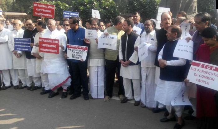 Opposition calls for 'Bharat Bandh' on November 28 against demonetisation