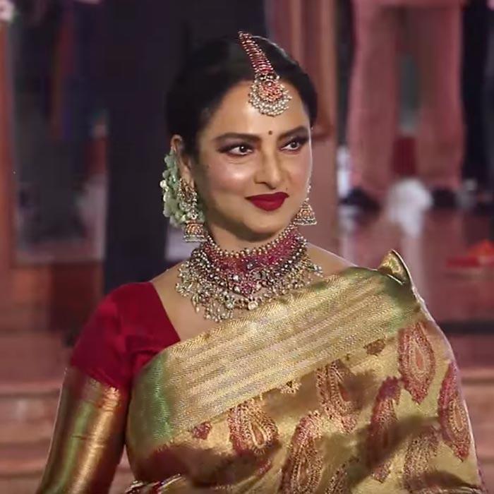 Timeless Bollywood Beauty Rekha Looks Garish 5 Tips To