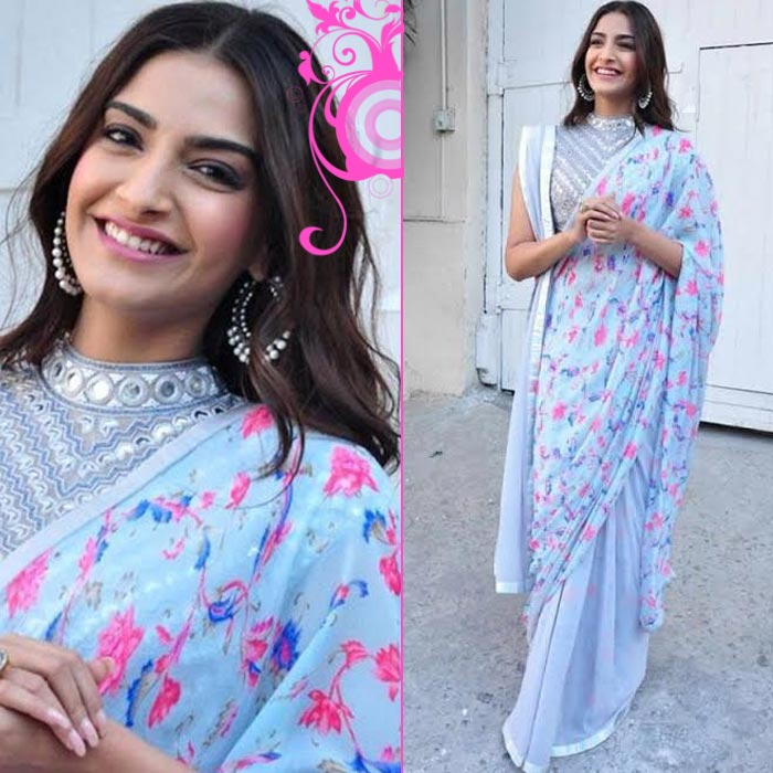 744a1d10b90ee2 Sonam Kapoor's saree draping style guide: 7 times Sonam inspired us to steal  her saree