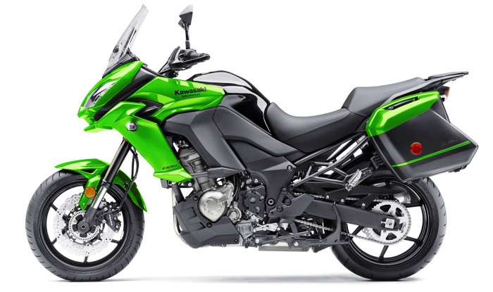kawasaki unveils 2017 versys 650 and 1000. Black Bedroom Furniture Sets. Home Design Ideas