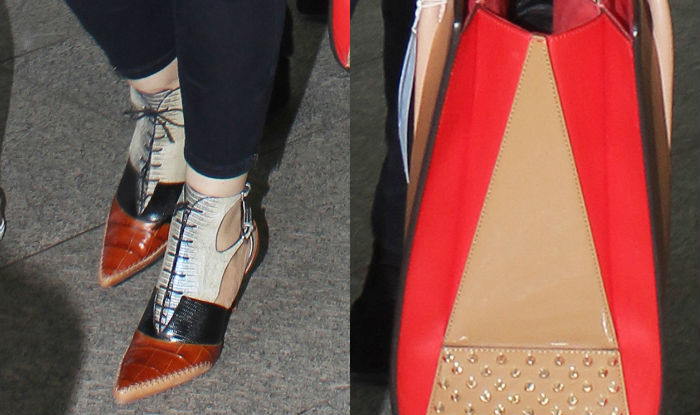 Aishwarya Airport Style Shoes and Bag