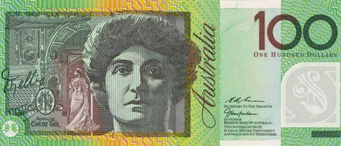 Australian 100 dollar currency note