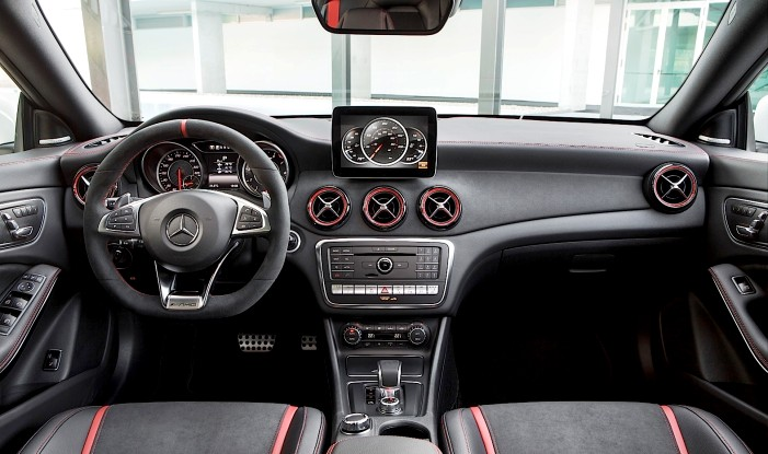 2017 Mercedes-Benz Cla Facelift Interiors