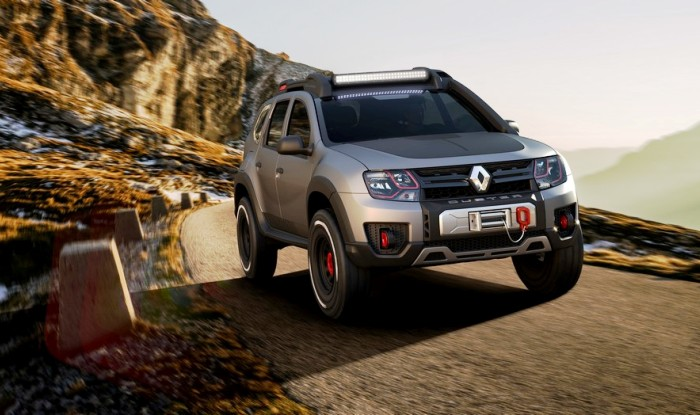 Renault Duster Extreme Concept Front