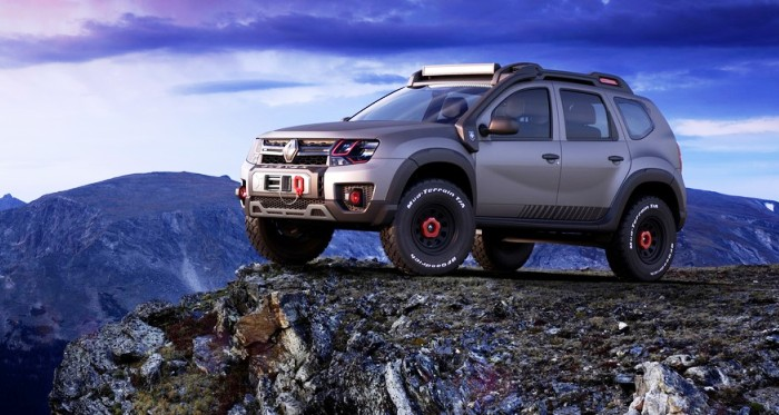 renault duster extreme concept showcased at 2016 sao paulo. Black Bedroom Furniture Sets. Home Design Ideas