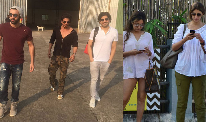 Shah Rukh Khan Birthday Bash Unseen Pics Ranbir Kapoor