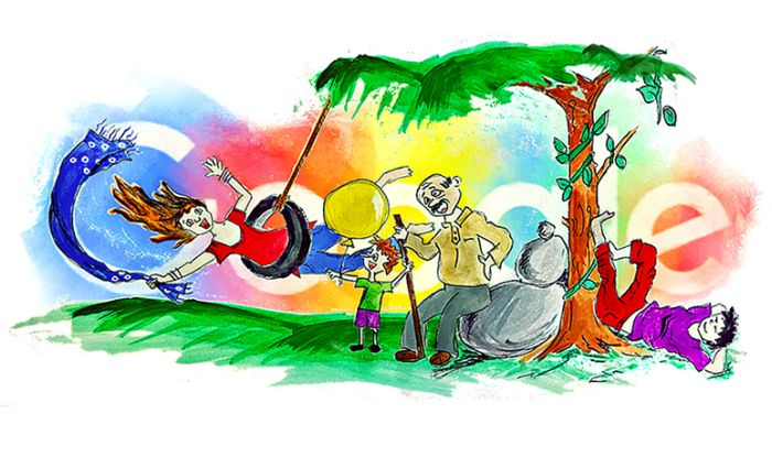 children s day in india 12 doodles by indian kiddos that made it to