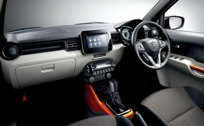 Maruti Suzuki Ignis Interiors
