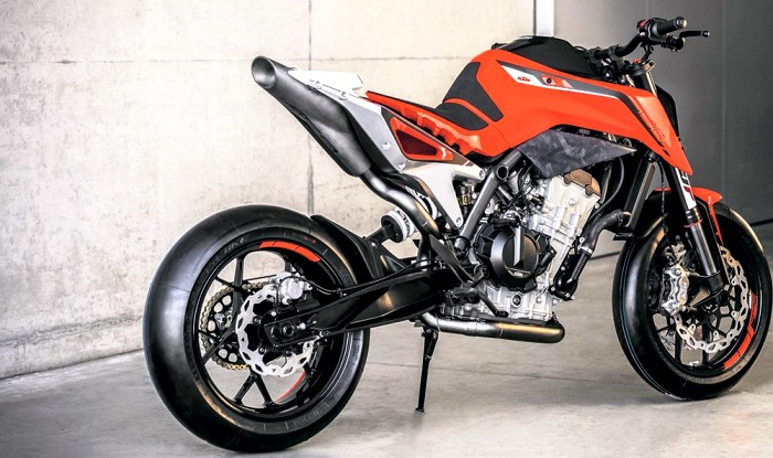 2018 ktm 125. delighful 125 ktm duke 790 prototype in 2018 ktm 125