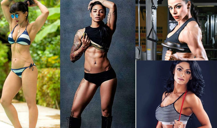 Asian female muscle instagram you
