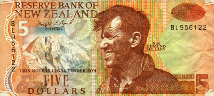 new zealand currency note