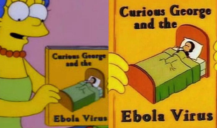 simpsons ebola virus
