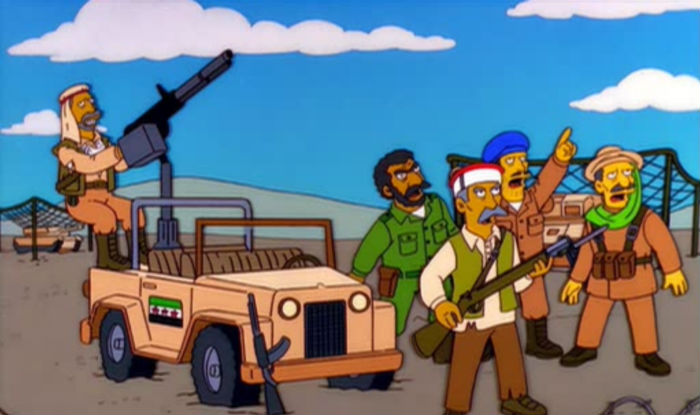 simpsons syria civil war