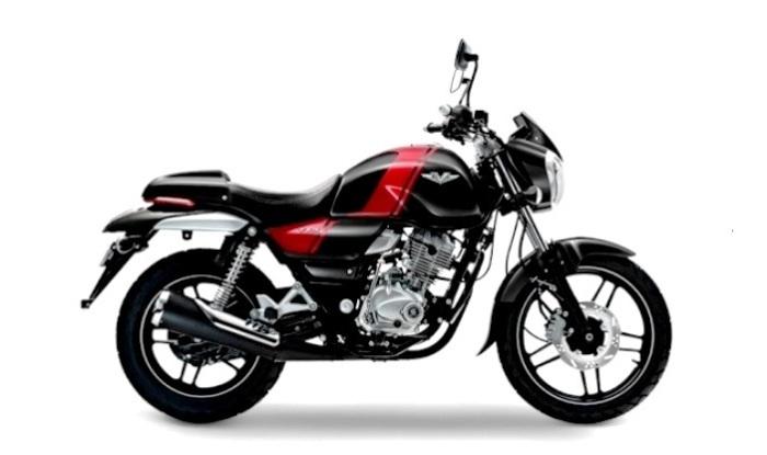 Bajaj V12 Ebony Black