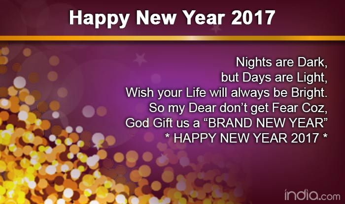 Happy New Year English 6
