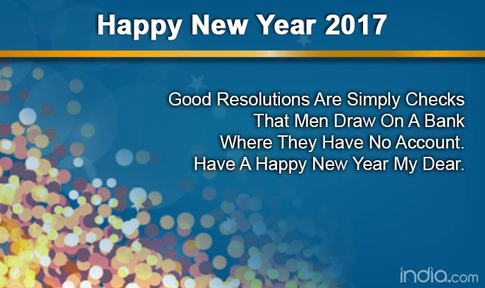 Happy New Year English 16