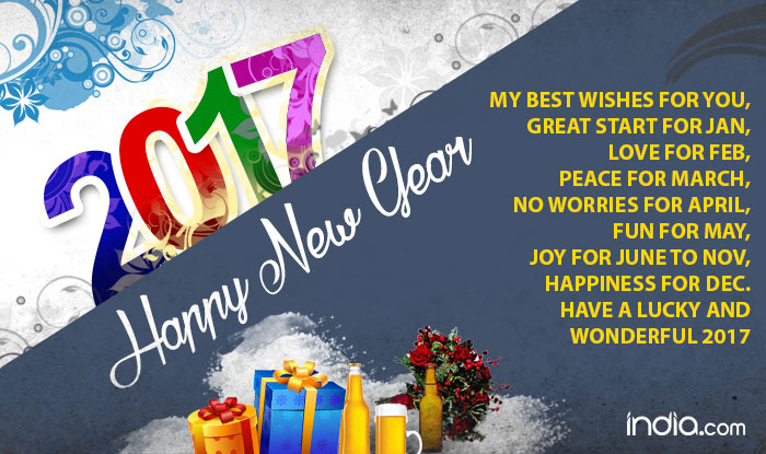 Advance Happy New Year 2017 Wishes Gif Images Memes