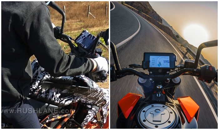 2017 ktm duke 390 spied testing in india; launch in february 2017