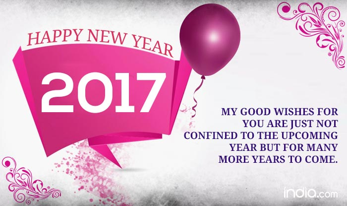 Happy New Year 2017: Best New Year Quotes, Sayings, SMS ...