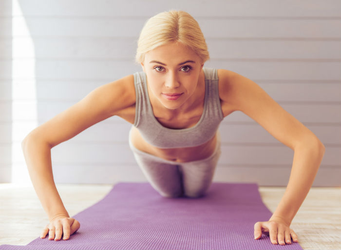 There are several exercises for the breasts. So go online and follow some  easy to do exercises routine to keep your breasts healthy and toned.