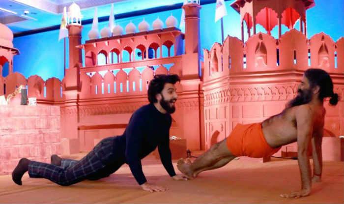जब बाबा रामदेव ने उड़ा दिए रणवीर सिंह के होश !