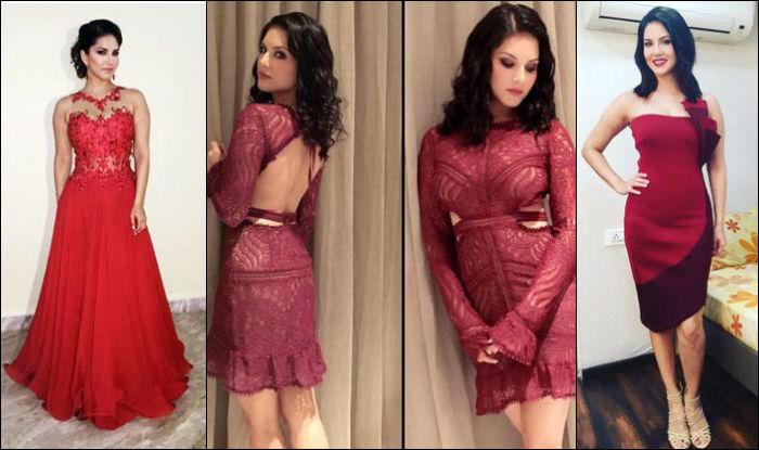 Raees Item Girl Sunny Leone Raises Mercury Levels In Red