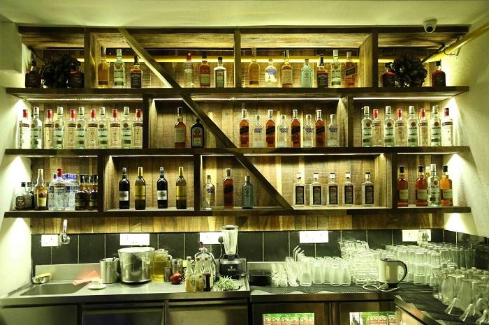 Bar Area at Door No. 1