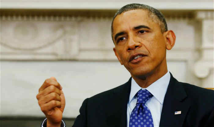 Barack Obama Pays Last Presidential Holiday Visit To