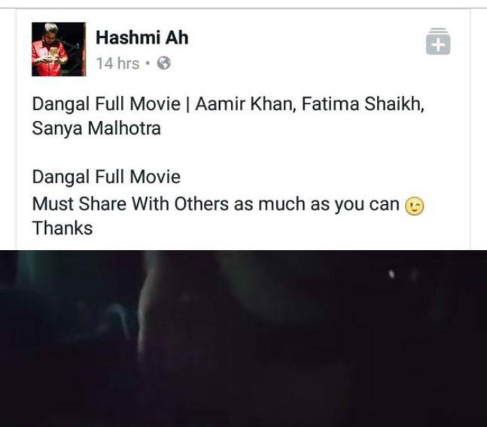 Dangal Full Movie Leaked Online Aamir Khan Starrer Film Fights