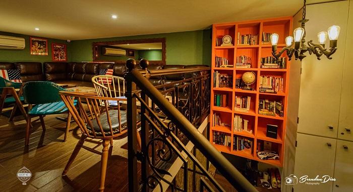 Gaming Den and Library at Door No. 1