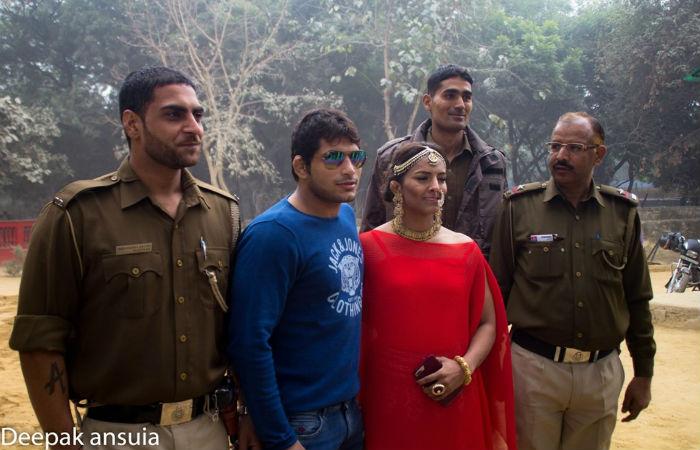 Geeta Phogat husband Pawan Kumar 12