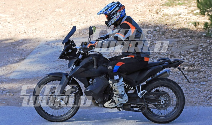 2018 ktm adventure bikes. modren 2018 ktm 790 adventure spy shot side profile on 2018 ktm adventure bikes