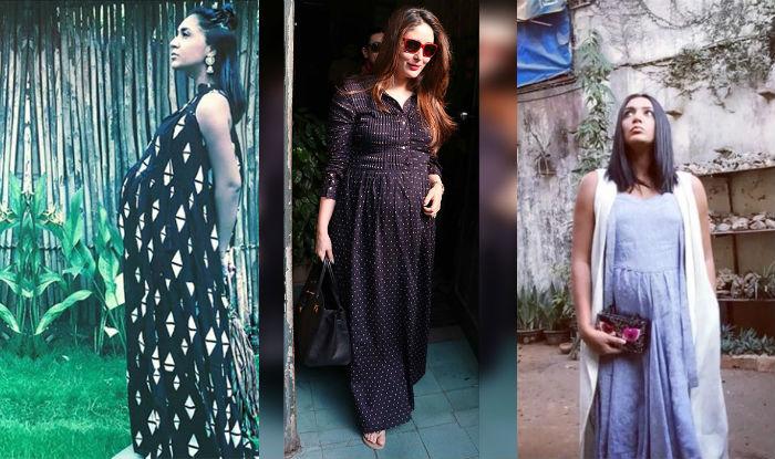 Kareena Kapoor Maternity Style Maxi Dress