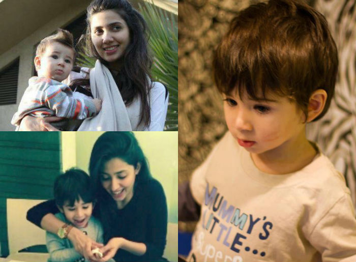 Image result for images of mahira khan son