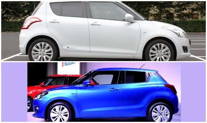 2017 Suzuki Swift New Vs Old Comparison Find New
