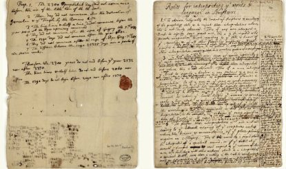 Newton's Note