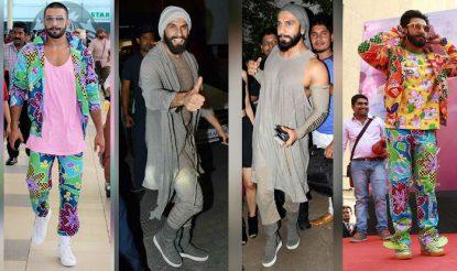 Ranveer Singh Quirky Style