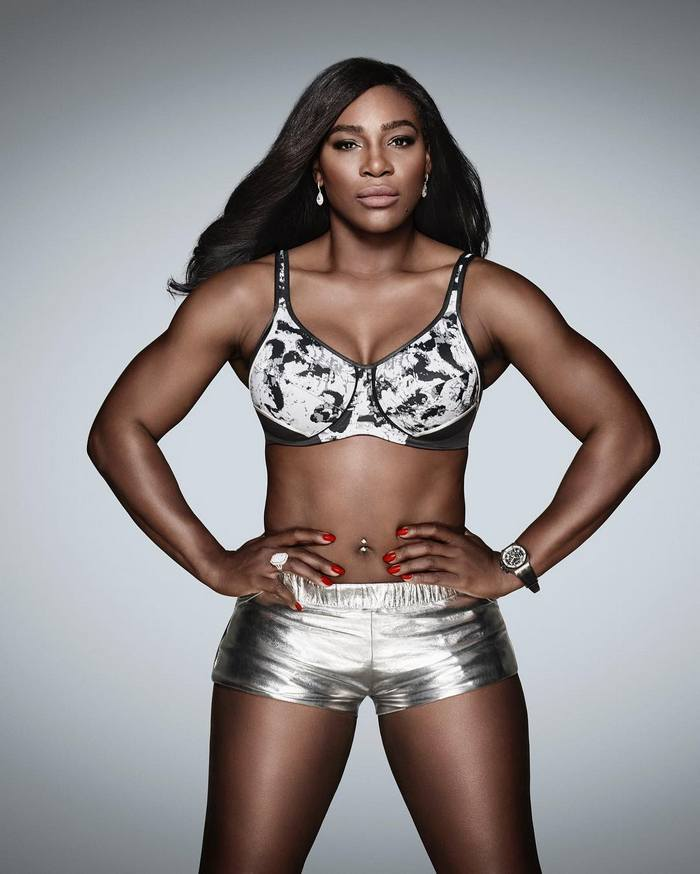 Tennis star Serena Williams shows us how to make sports ...