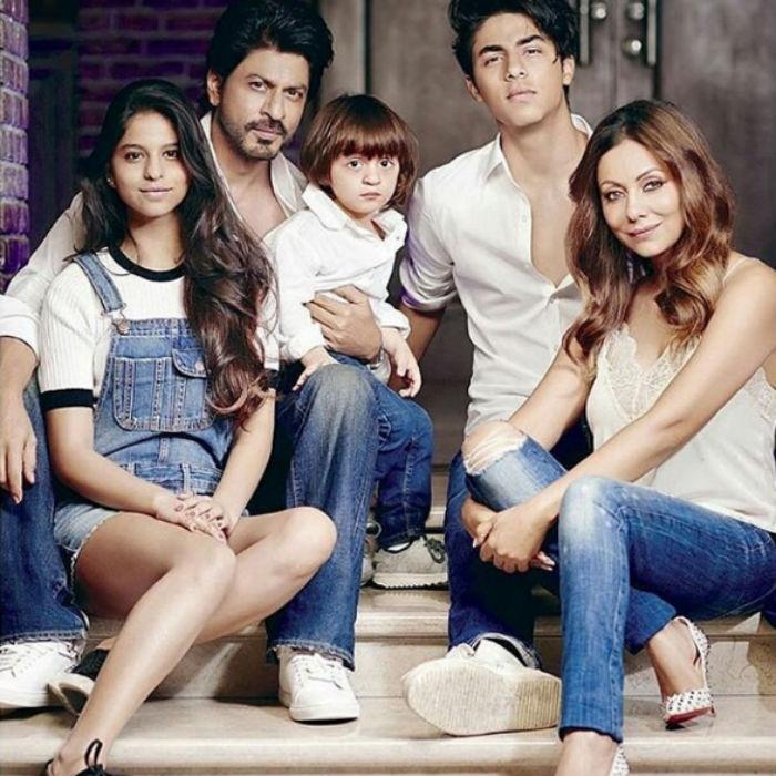 Shah Rukh family