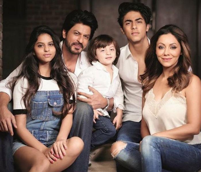 Shah Rukh family1