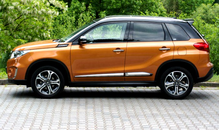 Suzuki Vitara Side Profile