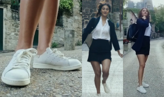 Vaani Kapoor in Befikre French sneakers