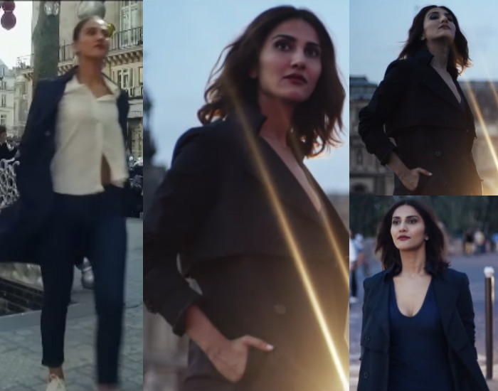 Vaani Kapoor in Befikre French trench coats