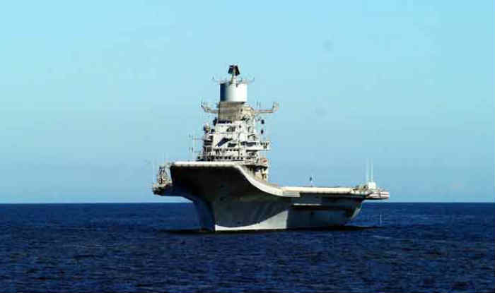 Fire Breaks Out Onboard INS Vikramaditya, Naval Officer Succumbs to Injuries
