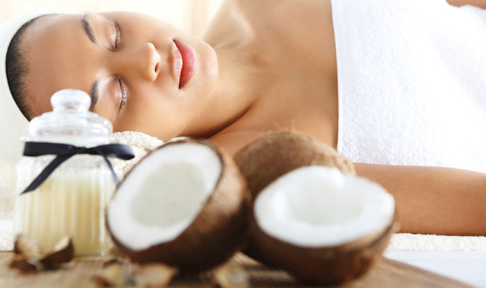 Coconut oil facial cleanser